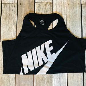 Nike | Black racerback workout tank
